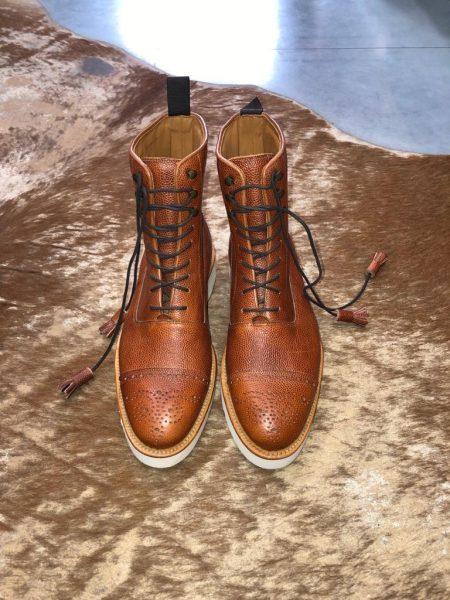 Boots Vibram Sole Brown