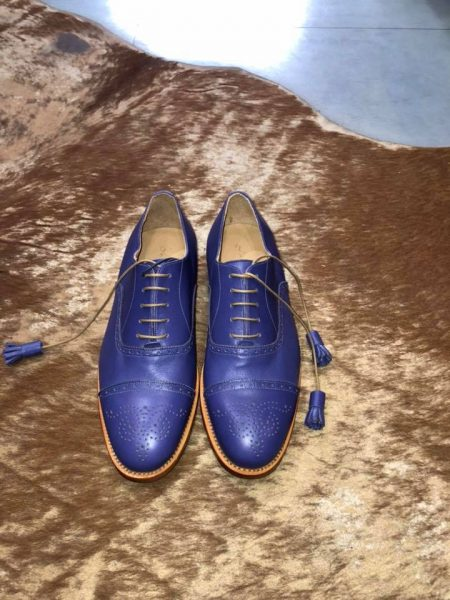 Oxford Brouge Blue